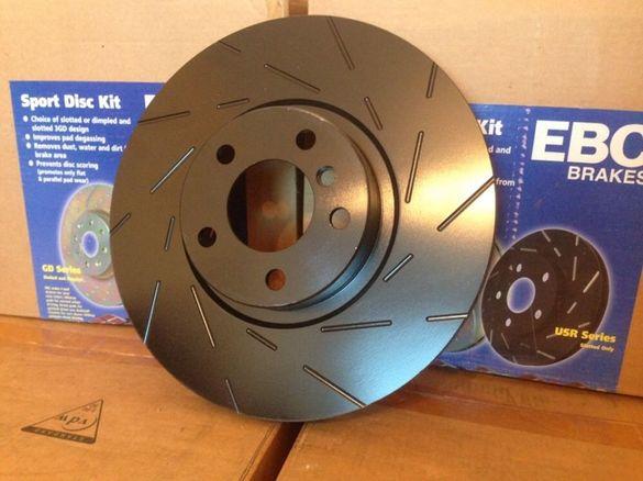 Спирачни дискове БМВ Х5 30Д Х6 40Д BMW БРЕМБО ЕБЦ Е70 Е71 Ф15 Ф16 М50Д