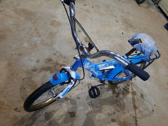 Детско колело 16 + помощни колела