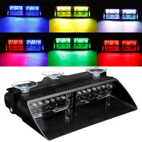 Girofar Straboscop RGB culoare selectabila, nou