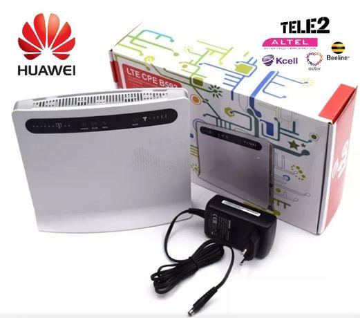 4G Wi-Fi роутер с поддержкой 4G сим карты +4 LAN Huawei B593