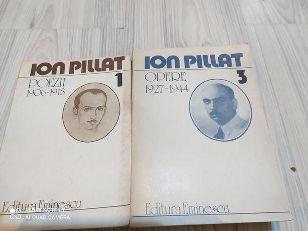 Opere-Ion Pillat vol 1 și 3