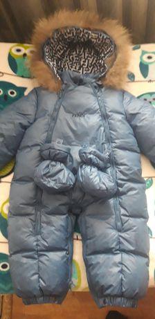 Комбинезон на мальчика зима