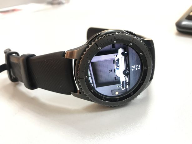 Galaxy watch gear s3 frontier