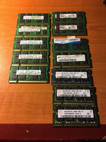 ram laptop ddr 2 ,2 GB
