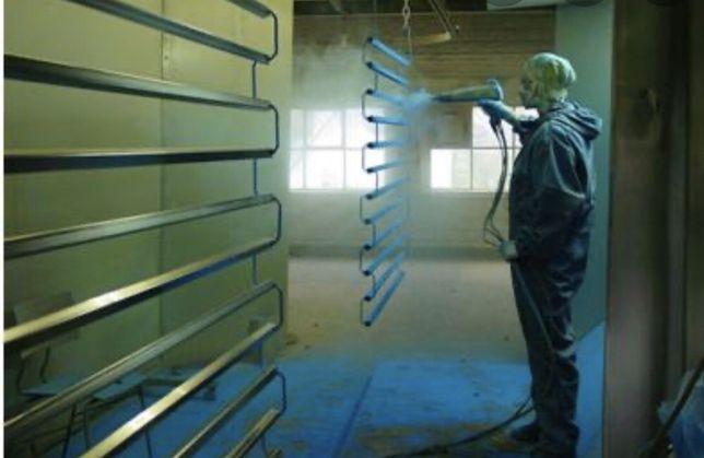 Полимерная порошковая покраска. Длина печи 8.5 метров Плазменная резка