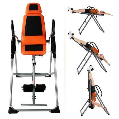 Инверсионный Стол! Избавьтесь от боли в спине без Операции за 14 дней!