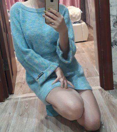 Продам новое тёплое вязанное платье