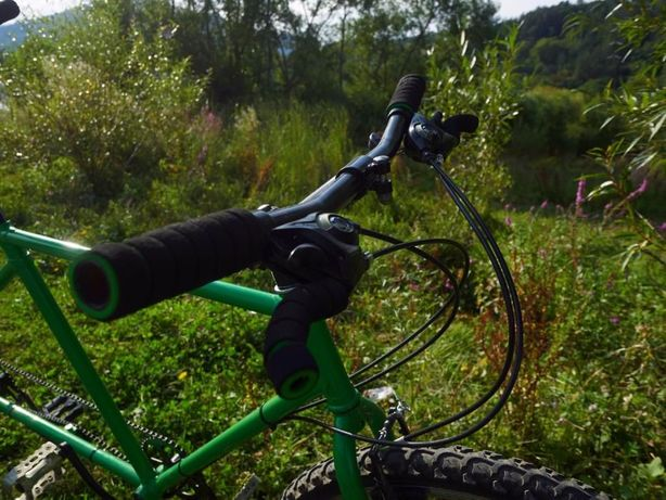 Bicicleta Tandem - ideala pentru cupluri care se suporta :)