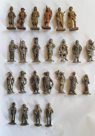 Kinder Surprise метални фигурки войници шоколадови яйца Киндер Сюрприз