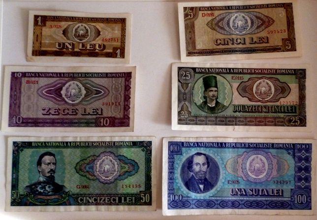 Set bancnote 1966