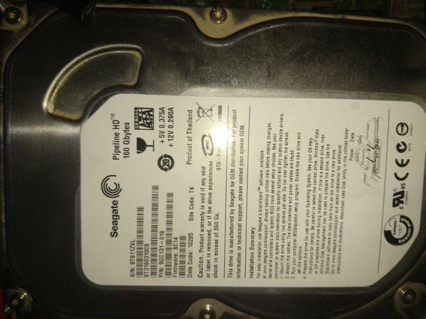 Vând urgent HDD Seagate 160 GB Sata