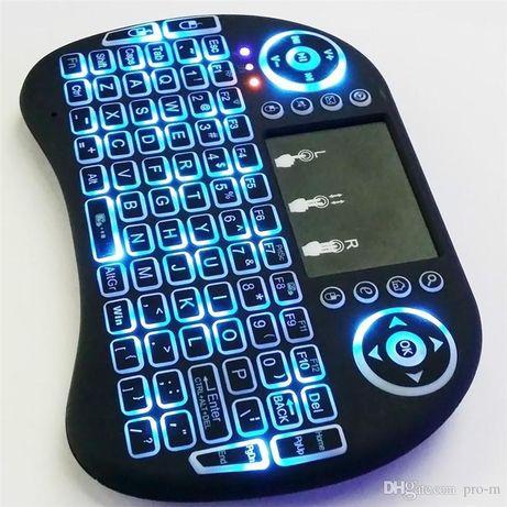Мини безжична клавиатура с тъчпад и подсветка mini keyboard