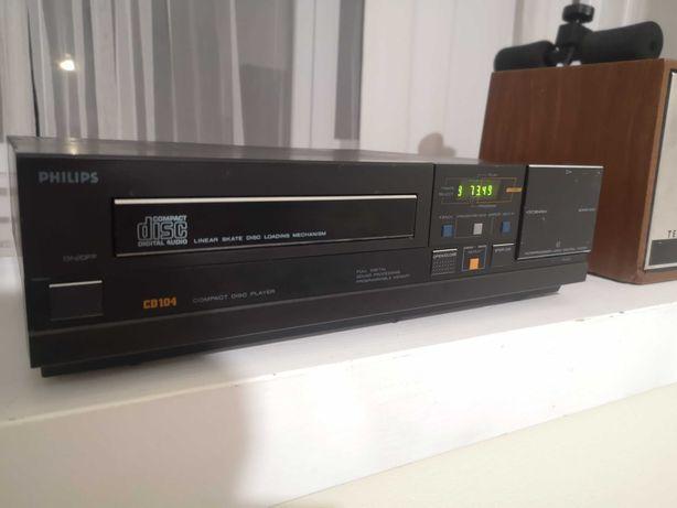 CD player Philips cd 104, modificat NOS, Recap, Ocazie
