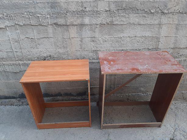 Две мебели из под шкафа за 3000 тг