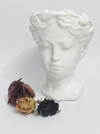 Vaza bust Venus alba