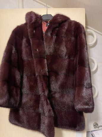 Чисто ново палто от норка