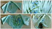 Ръчно рисувани копринени шалове уникат