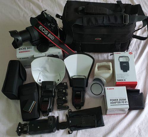 CANON 80D și accesorii