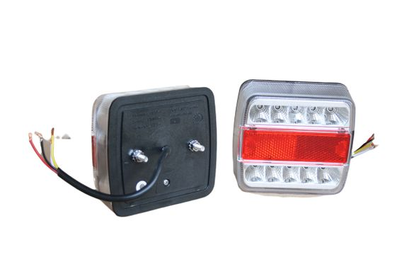 Компл. 2 броя ЛЕД LED стопове за камион , ремарке , бус 12V / 24V
