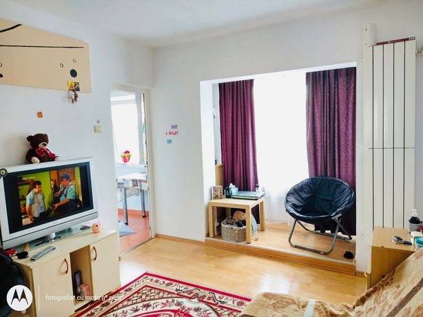 Schimb garsoniera cu apartament 3 camere + diferenta