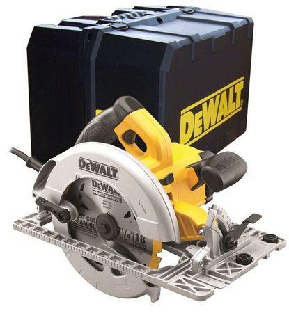 Циркулярен трион DeWALT 1600W, Ø 190mm / DWE575K
