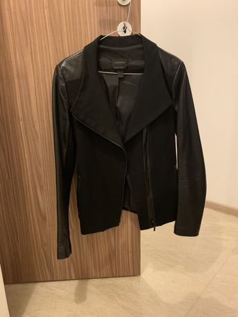 Черно яке с естествена кожа