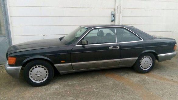 Мерцедес 126 560 SEC на части Mercedes 126 560 СЕК на части