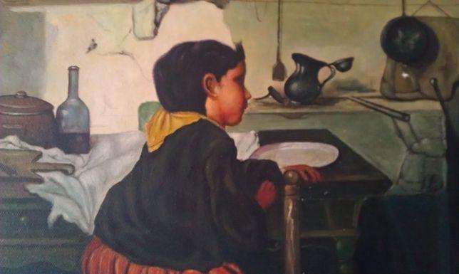 Pictura flamanda - tablou Willem Neuwelaers, sec. XIX