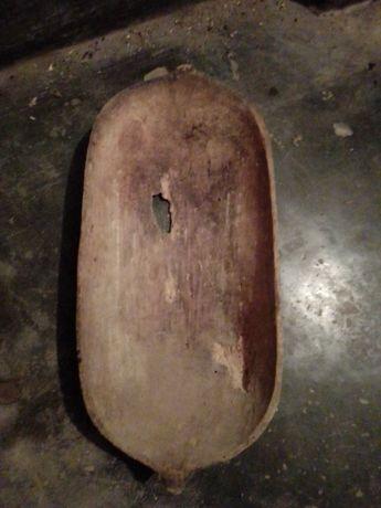 копанка нощва много старо дялано дървено корито