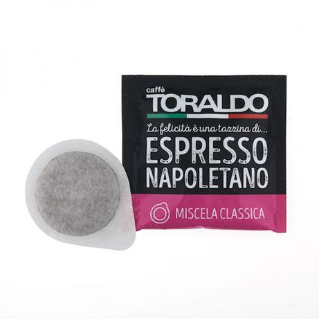 50 бр Кафе хартиени дози Торалдо Класика 90% Арабика