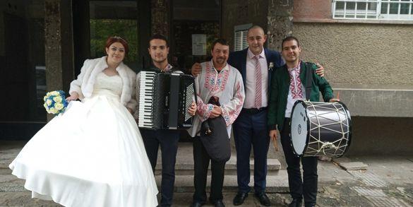 """Оркестър,,Мераклии""""- оркестър за извеждане на булка и сватби!"""