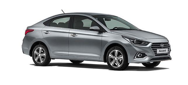 бампер на Hyundai Accent 2017
