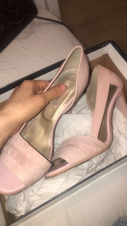 Pantofi roz nude Anna cori/ pepper shoes