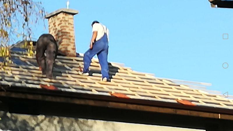 Ремонт на покриви Сапарева баня