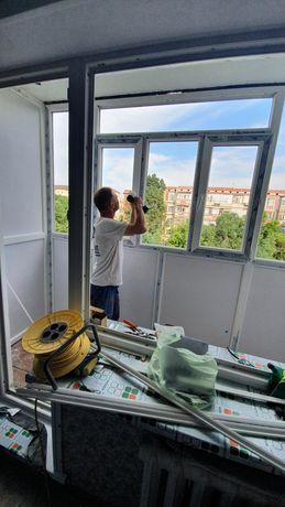 Остекление Балкона , Пластиковые Окна, Утепление Балконов,  Адам-Пласт