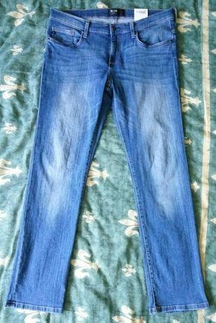 Pantaloni / blue jeans / blugi barbati, noi Big Star, W34 L32, L, 92cm