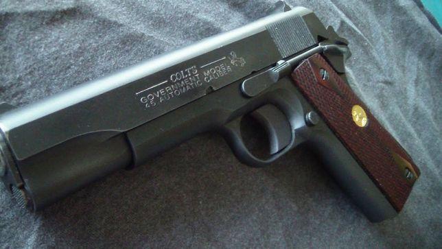 UN NOU MODEL! (Pistol *Manual* UPGRADE Colt Spring Airsoft Arc pusca)