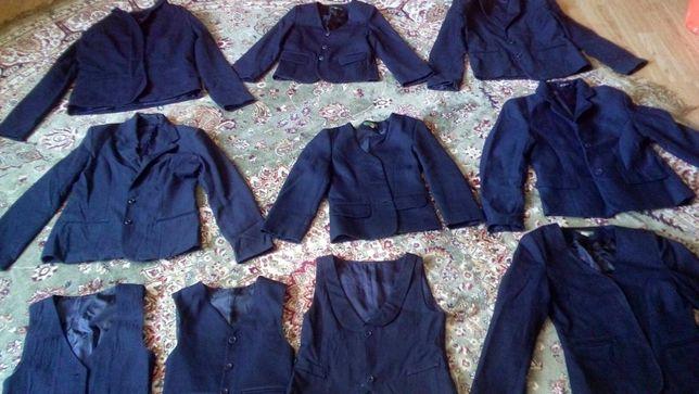 Пиджаки школьные(для девочек)