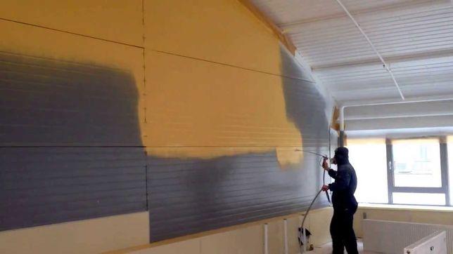 Покраска стен и потолков!