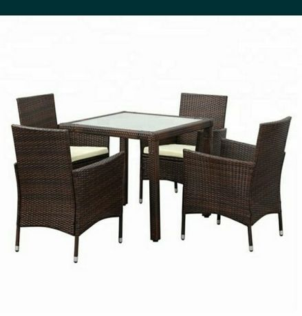 Ратанов КОМПЛЕКТ  4 стола + маса