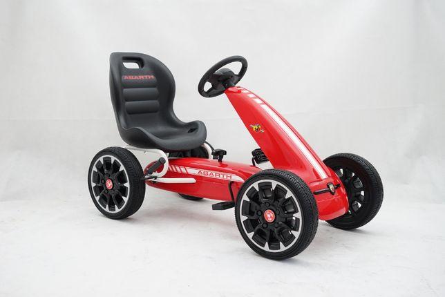 Masintua GO Kart cu pedale Pentru copii de la Fiat Abarth #Rosu