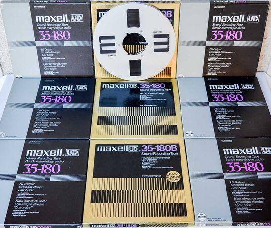 Benzi magnetofon Maxell UDXL akaibasfsonyrevoxteacpionneruheragfa
