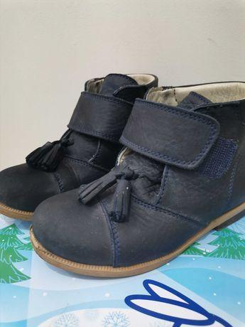Обувь детская, ботинки детские, демисезонные. Кожа