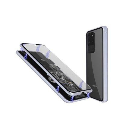 Магнитен кейс с две стъкла за Samsung S20/Plus/Ultra/S10/S9/Note 9/10