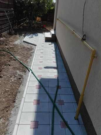 Pavaje si Pavele din beton comprimat aditivat Montaj Transport