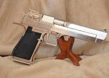 Pistol Airsoft Desert Eagle Ceva special AURIU 4,4j Bile+Co2