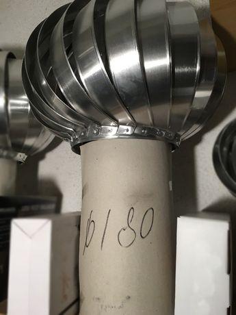 808 Вентилационна шапка за комин Ф-180 mm