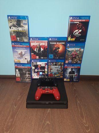 PlayStation 4 (PS4) Slim 1TB FIFA 21/GTA 5/Uncharted/Fortnite