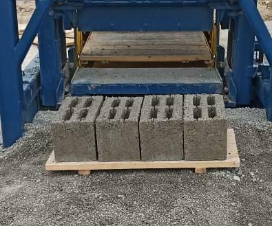 Пескоблок, шлакоблок, тротуарная плитка