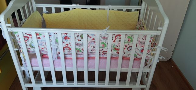 Продам детскую кровать. Матрас ортопедический
